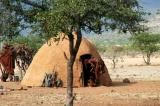 The camp arranged for a visit to a Himba village near Epupa Falls