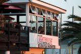 The Lighthouse Restaurant is a good place for a sundowner in Swakopmund