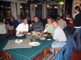 Dinner the first evening at the Swakopmund Brauhaus