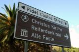 Street names have been changing as well. Peter Muller has been dropped in favor of Fidel Castro