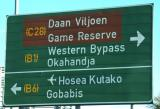 Daan Viljoen Game Reserve is a short distance west of Windhoek