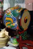 Small drum in a shop near Chongyesa Temple