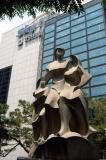 Statue at the Sky Life Building