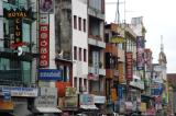 Pettah, one of the most diverse areas of Colombo with Christian, Muslim, Buddhist and Hindu places of worship