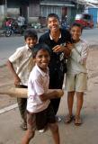 Kids in Colombo