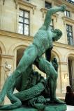 Hercule combattant Achéloüs, métamorphosé en serpent
