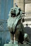 Lion at the Hôtel de Ville
