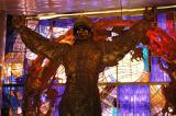 Cosmonaut memorial in the museum