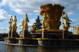 Each of the statues represents one of the old Soviet Republics