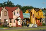 Colorful dachas at VDNKh