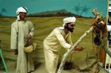 Diorama of a desert scene, Al Ain National Museum