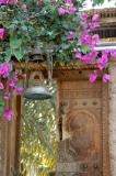 Mosque door near Fujairah Fort