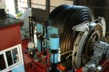 Elevator machinery for the Gold Reef City 14 Shaft lift