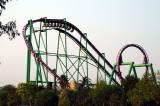 One of the major amusement park rides at Gold Reef City