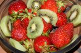kiwi and berries