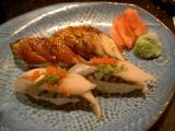 mackerel and eel @ sono sushi