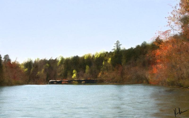 Lake Lahusage Dam 11x7