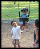 Nathan, Alina and Daniel