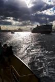 Spirit of Tasmania on harbour - f/14, 1/1600 s at 24 mm