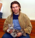 Här med Mattias