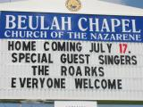 2005 July 17 Homecoming at Beulah Chapel Church of the nazarene