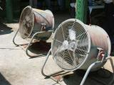 fans to keep the air moving