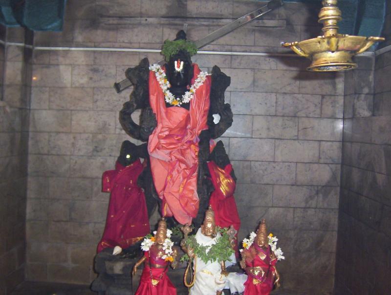 Chenna kesava with SrIand bhU dEvi