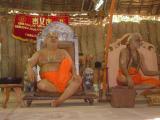 HH Parakala svAmi on the left side of SrImadANDavan
