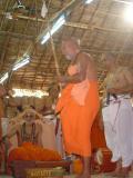 HH RangapriyA svAmi arriving at the hall