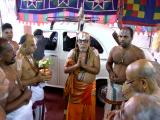 HH Sri Varada ethirajar Jeeyer-Sriperumbudur gracing the divine occassion of ekadina nAlayiram
