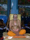 Swamy delivering his anugraha bhashanam