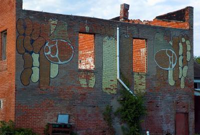 Old Abandoned Butcher Shop