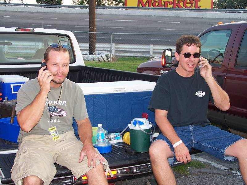 Music City Motorplex July 29 2005 on the phone