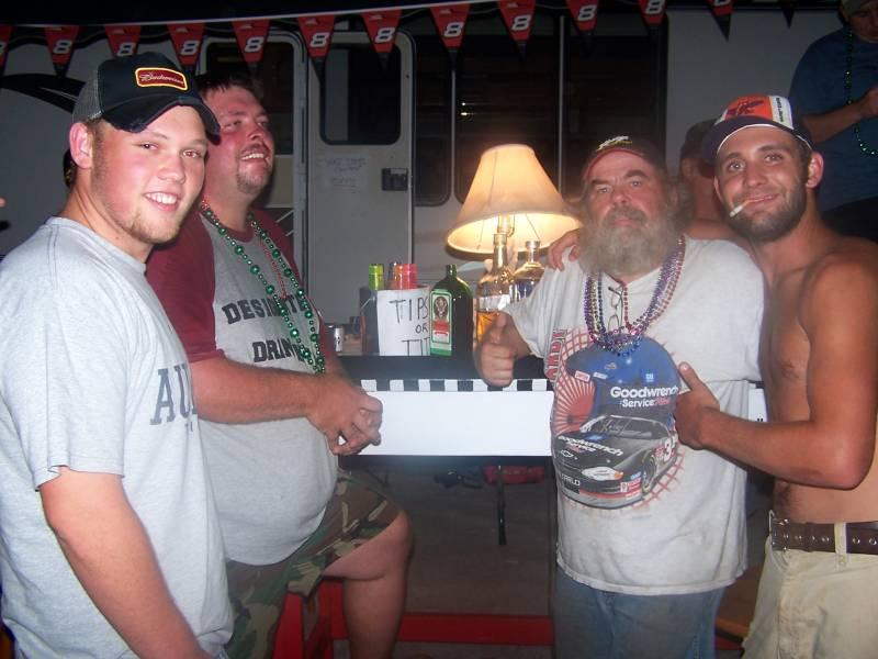 talladega fall 2005 Free Drinks