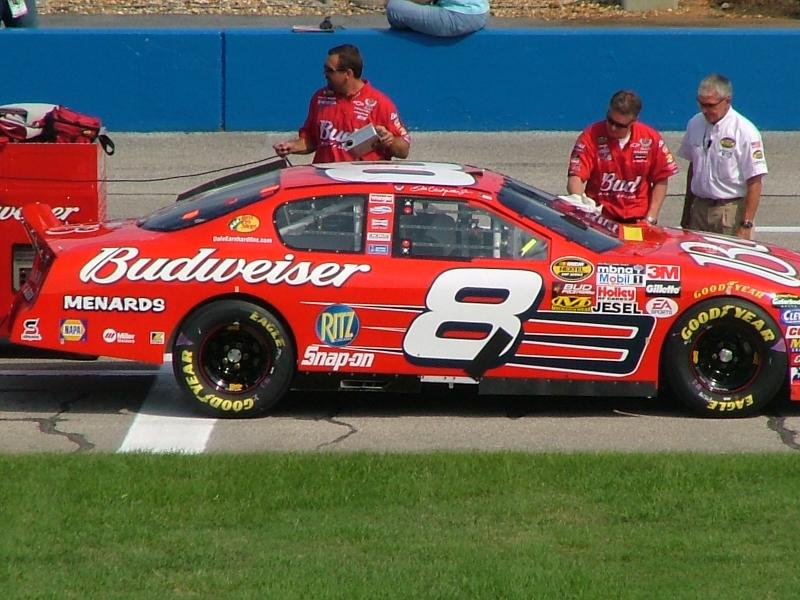 Talladega Fall 2005 The Menards-Budweiser #8 of Dale Earnhardt Jr.
