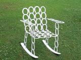 horse shoe rocking chair