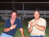 Music City Motorplex July 29 2005 Timmy Lawson and Nicky Formosa