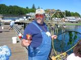 Friendly fisherman in Langley