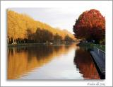 MC71 Reflections: Fall along the Canal ~ alain db
