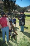 Learning about Civil War weapons