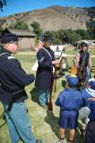 Weapons of the Civil War demonstration