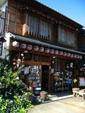 Picturesque curio shop