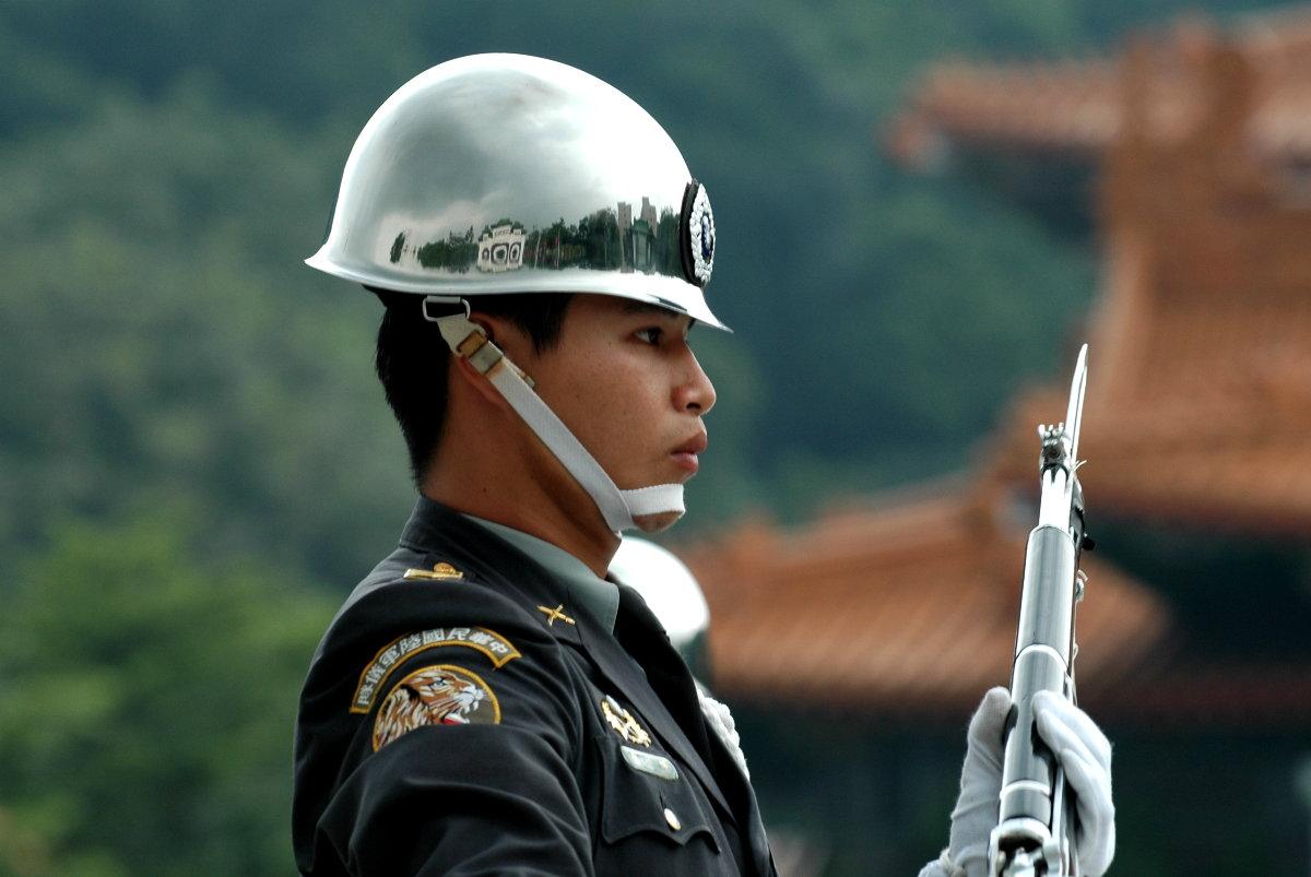 Guard of Martyrs Shrine, Taipei,Taiwan