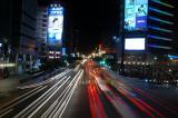 Taipei's street at night