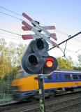 Railwaycrossing Neerveldsweg - September 2005 - II