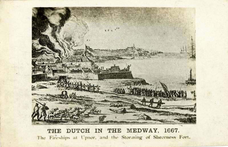 The Dutch in the Medway 1667