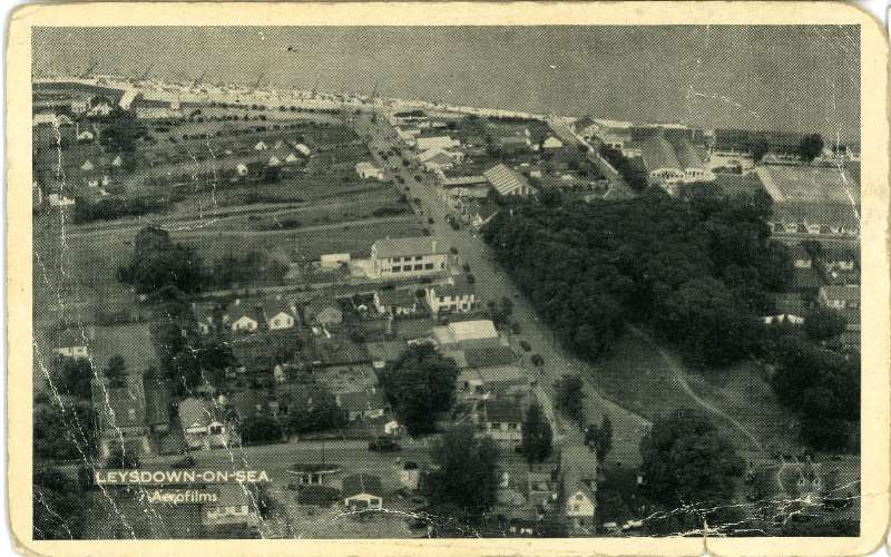 Leysdown, aerial view