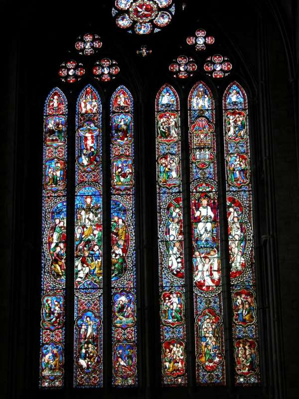 Hereford - Cathedral Stained Glass
