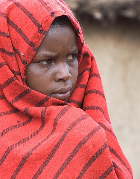 Young Maasai Girl