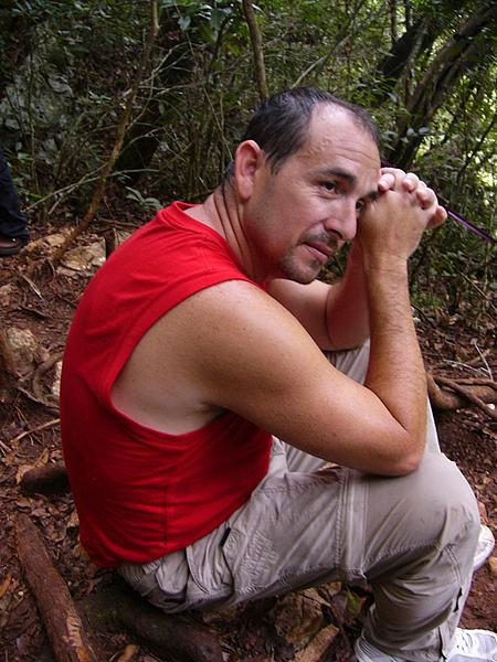 A good friend: Jose Raul Nova